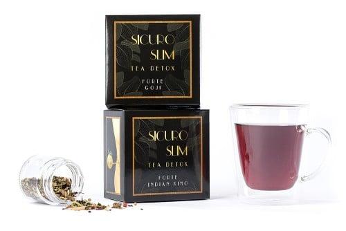 Sicuro Slim Forte goji ceai pentru slabit x 60 g